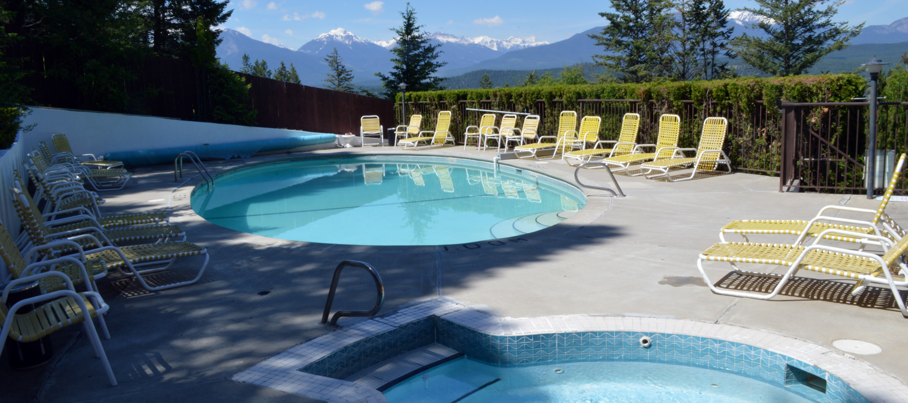 heated Pool and Hot Tub in Radium Hot Springs